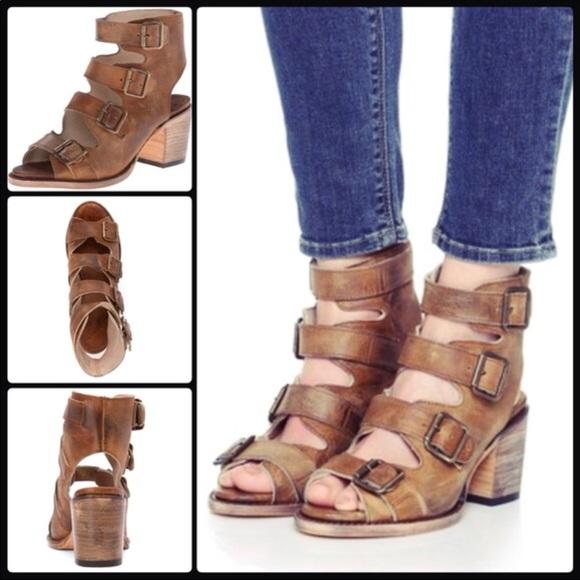 Freebird Quail Tan Sandals sz9